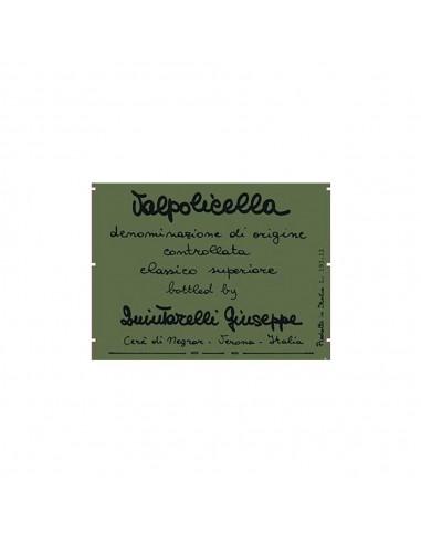 Valpolicella Classico Superiore 2012...
